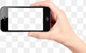 Smartphone In Hand Image - Smartphone Telephone PNG