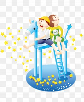Play The Child - Cartoon Illustration PNG
