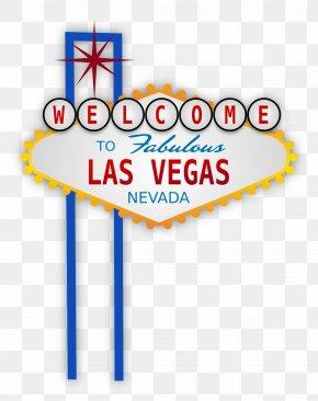 Las Vegas Clipart - Welcome To Fabulous Las Vegas Sign McCarran International Airport PNG