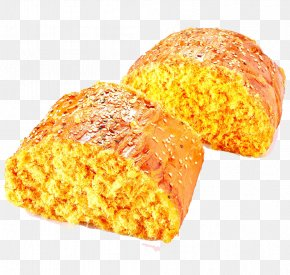 Golden Cake - Cake Bread Download PNG