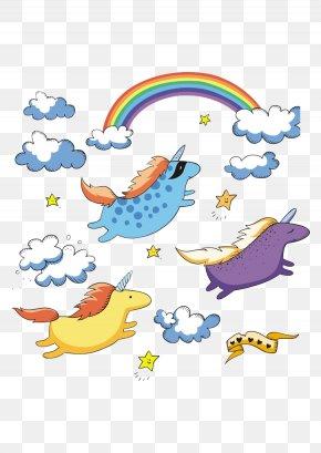 Rainbow Unicorn - Unicorn Curtain Fairy Tale Shower Shutterstock PNG