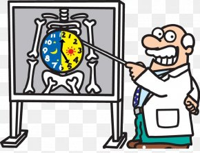 Cartoon Doctor - Circadian Rhythm Human Body Rapid Eye Movement Sleep Behavior Disorder Melatonin PNG