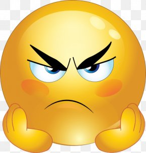 Grumpy Face Cliparts - Emoticon Anger Emoji Smiley Clip Art PNG