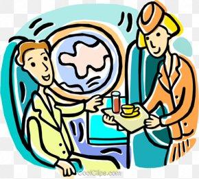 Airplane - Flight Attendant Airplane Air Travel Clip Art PNG