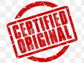 Certified Stamp Transparent - Postage Stamp Clip Art PNG