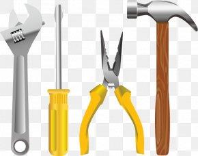 Banzai Hammer Installation Tool Screwdriver - Tool Euclidean Vector PNG