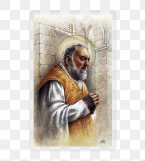 Padre Pio - Top Memorial Contact Page Stock Photography Religion PNG