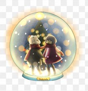 Snow Globe - Christmas Ornament Figurine PNG