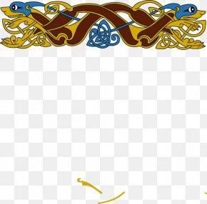 Celtic Border Cliparts - Borders And Frames Republic Of Irelandxe2u20acu201cUnited Kingdom Border Celtic Knot Celts Clip Art PNG