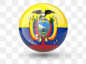 Flag - Flag Of Ecuador National Flag Flags Of South America PNG