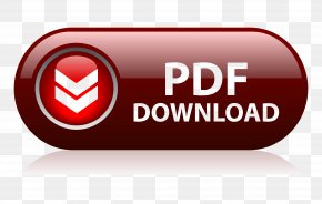 Download Now Button - Portable Document Format Download Button PNG