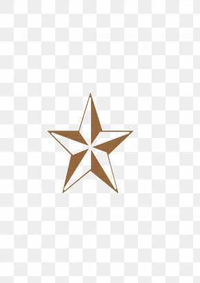 Star - Texas Star Triangle Pattern PNG
