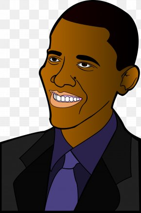 Barack Obama Cliparts - Barack Obama President Of The United States Cartoon Clip Art PNG