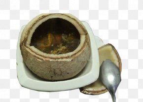Coconut Shell Container Coconut Chicken Soup - Chicken Soup Canja De Galinha Coconut PNG