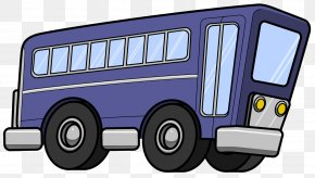Bus - Bus Car Vehicle Clip Art PNG
