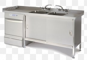 Table - Table Sink Kitchen Stainless Steel Metal Fabrication PNG
