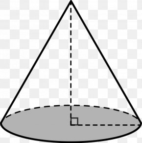 Cone Shape Cliparts - Shape Cone Pyramid Three-dimensional Space Rectangle PNG