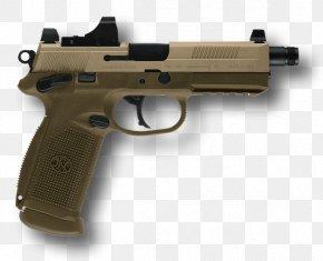 Handgun Image - FN FNX .45 ACP FN Herstal Semi-automatic Pistol PNG