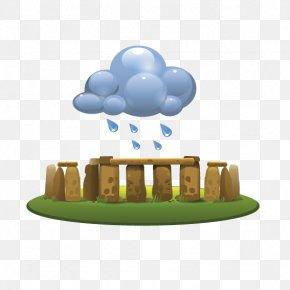 Rain Garden - Rain Cloud PNG
