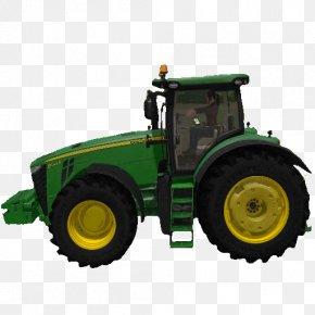 Farming Simulator - John Deere Wheel Tractor-scraper Agricultural Machinery PNG