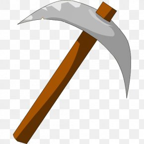 Transparent Axe Cliparts - Minecraft Pickaxe Wikia YouTube Clip Art PNG