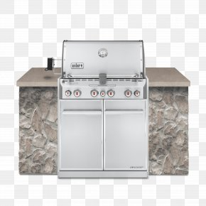 Built In Gas Grills - Barbecue Weber Summit S-460 Weber-Stephen Products Natural Gas Grilling PNG
