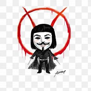 V For Vendetta Transparent - Film Making Fiends Clip Art PNG