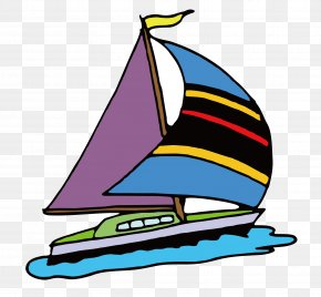 Sailing Sailing - Sailing Ship Cartoon Clip Art PNG