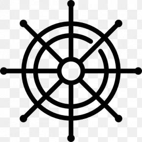Ship - Ship's Wheel Helmsman Clip Art PNG