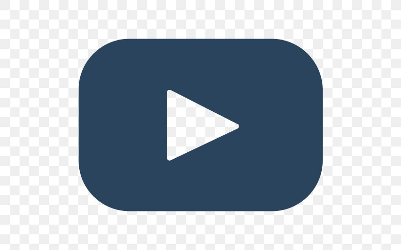 Youtube Png 512x512px Youtube Blue Brand Logo