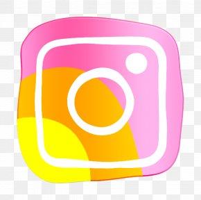 Yellow Web Icon - Communication Icon Instagram Icon Media Icon PNG