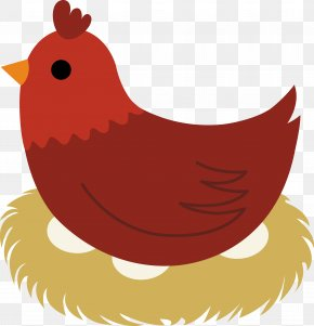 Hen Cliparts - Delaware Chicken The Little Red Hen Egg Clip Art PNG