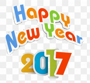 New Year 2017 Png (1) - New Year's Day Clip Art PNG