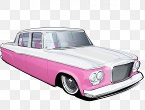 Pink Car - Car Automotive Design Pink PNG