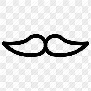 Mustache Outline - ICO Moustache Icon PNG