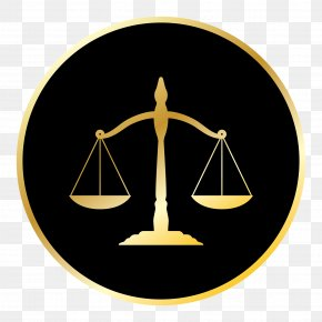 Lawyer - Lady Justice Measuring Scales Judge Court PNG