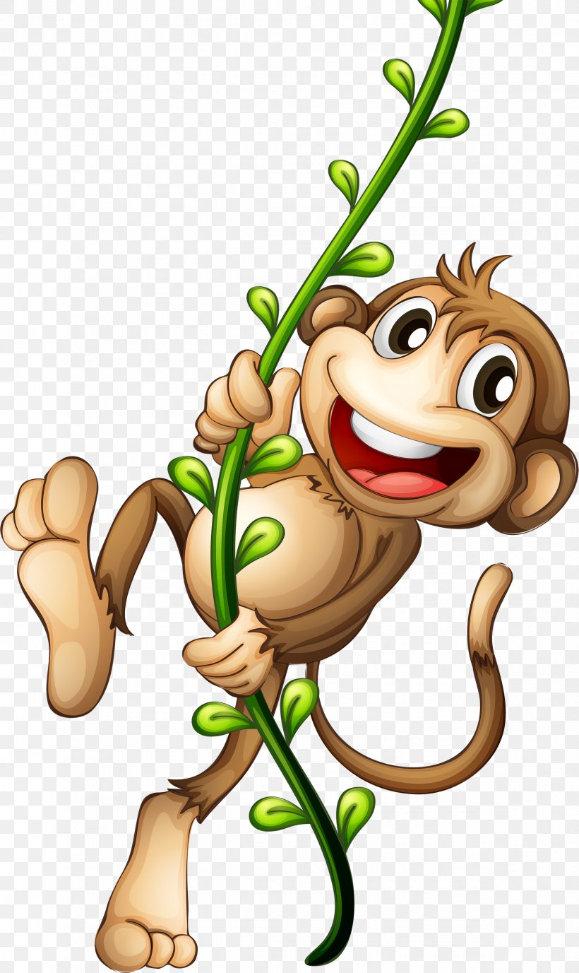 Cartoon Monkey Clip Art, PNG, 2343x3936px, Cartoon, Art, Clip Art, Drawing, Fictional Character Download Free