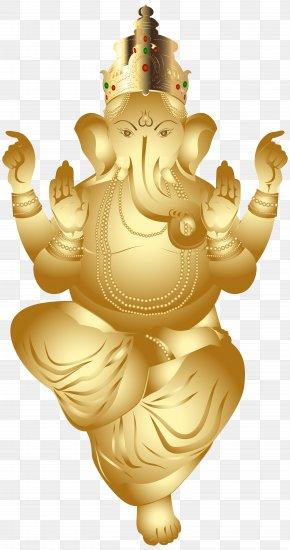 Ganesha Gold Clip Art Image - Ganesha Clip Art PNG