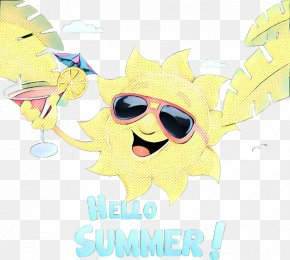 Art Fictional Character - Summer Poster Background PNG