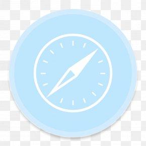 Safari 4 - Blue Aqua Circle PNG