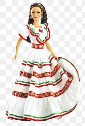 Barbie - Cinco De Mayo Barbie Doll Battle Of Puebla Irish Dance Barbie Doll Nigerian Barbie PNG