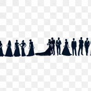 Bride - Bridesmaid Wedding Invitation Clip Art PNG