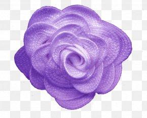 Purple Flower Clip Art - Garden Roses Purple Flower Textile PNG