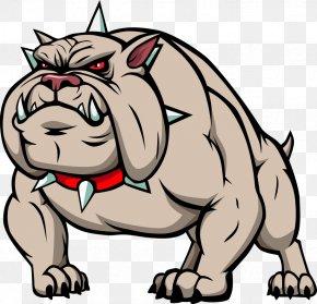 Vector Cartoon Dog - Bulldog Cartoon Clip Art PNG