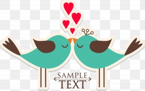 Valentines Day Love Birds - Chubby Cheek Cafe Quotation Love Thought Idea PNG