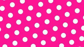 Dots - Polka Dot High-definition Video Desktop Wallpaper Pink Wallpaper PNG