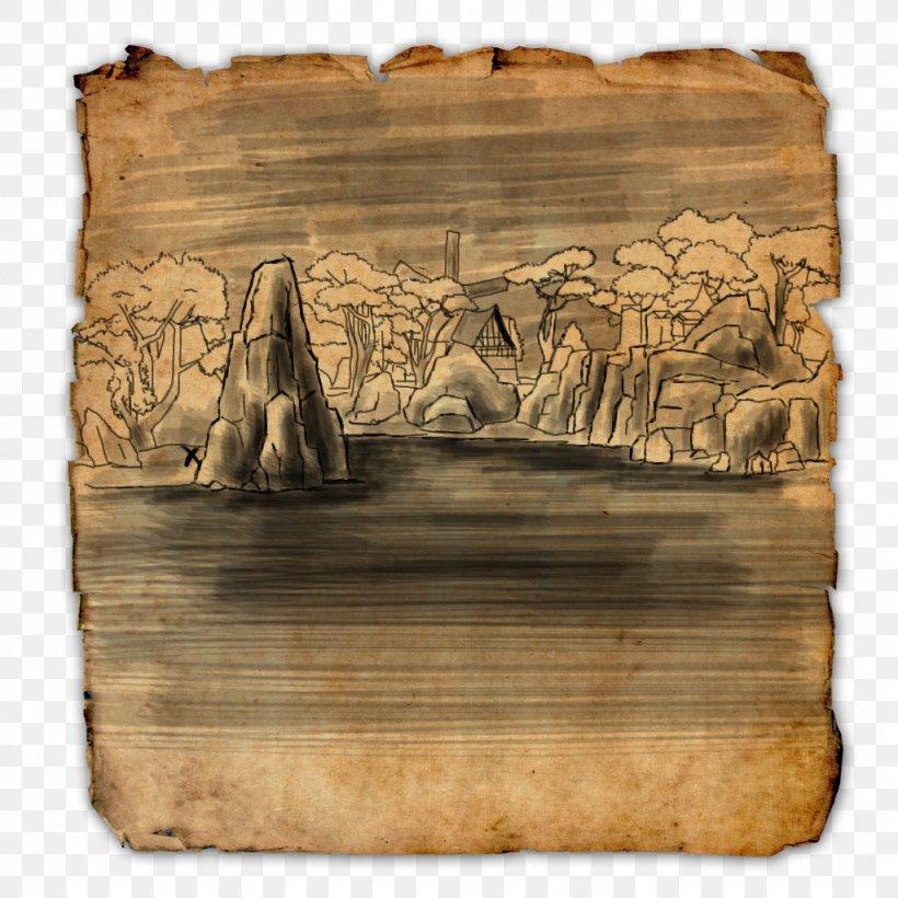 The Elder Scrolls Online The Elder Scrolls II: Daggerfall The Elder Scrolls V: Skyrim Treasure Map, PNG, 1024x1024px, Elder Scrolls Online, Buried Treasure, Carnivoran, Elder Scrolls, Elder Scrolls Ii Daggerfall Download Free