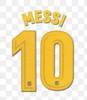 Fc Barcelona - Argentina National Football Team FC Barcelona La Liga Number T-shirt PNG