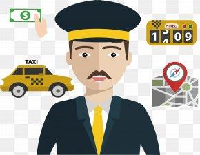 Taxi Driver - Taxi Driver Taxi Driver Chauffeur PNG