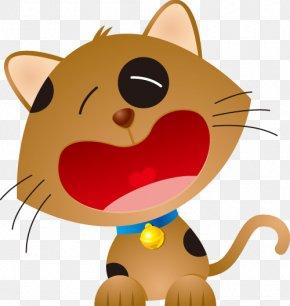 Cat - Cat Kitten Cartoon Crying Cuteness PNG